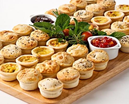 Assorted Petite Savouries/Quiche 19gm