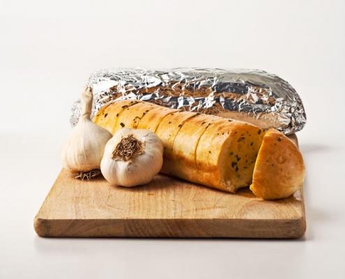 Garlic Foil Wrap